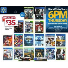 $35 Select Video Games
