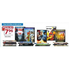 $7.96 Assorted DVD's