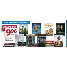 $9.96 Assorted DVD's