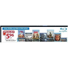 $5.96 Assorted Blu-ray DVD's