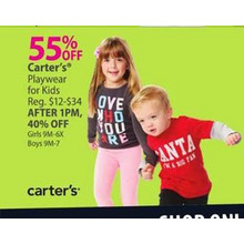 Carter's Kids' Playwear  55% OFF
