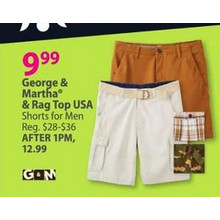 Rag Top USA Mens Shorts (Assorted Styles)