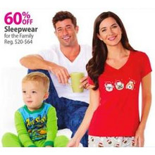 Girls' Sleepwear 60% OFF