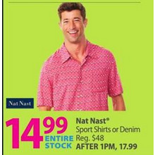 Nat Nast Denim Shirts