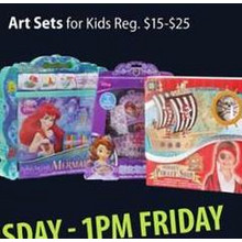 Art Sets 50% OFF