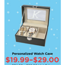 19.99-29.00 Personalized Watch Case