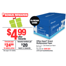 Office Depot Brand Multipurpose Paper
