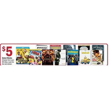 Select Movies (Assorted) - $5.00