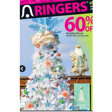 Holiday Decor 60% OFF