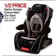 Alpha Omega Convertible Car Seat