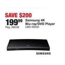 Samsung 4K Blue-Ray/DVD Player (UBD-K8500)