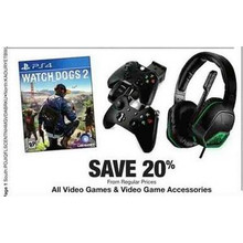 Video Game Assessories 20% OFF
