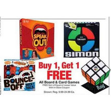 Board Games (Assorted Titles) BOGO FREE