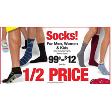 Womens Socks (Assorted) FROM .99