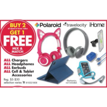 Headphones B2G1 FREE