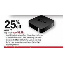 Apple TV - 25% OFF