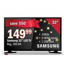 "Samsung 32"" 1080p LED TV"