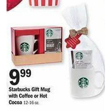 Starbucks Gift Mug with Hot Cocoa