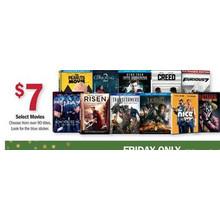 $7 Movies (Assorted)