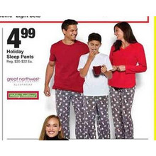 Holiday Traditions Sleep Pants