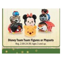 Disney Tsum Tsum Figures - BOGO 50% OFF