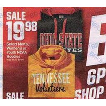 Women's NCAA Hoodies
