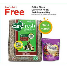 Carefresh Hay BOGO FREE