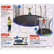 Stats 5-ft. Trampoline w/ Enclosure