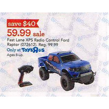Fast Lane XPS Radio Control Ford Raptor