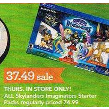 Skylander Imaginators Starter Packs