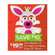 FNAF Funtime Foxy 16-in. Plush