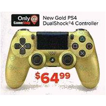 PlayStation DualShock 4 Gold Wireless Controller
