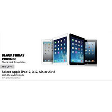 46% Off Apple iPad 4 (Assorted Colors)