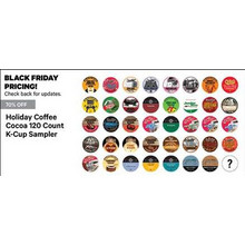 70% Off Holiday Coffee Cocoa 120-ct. K-Cup Sampler (Assorted)