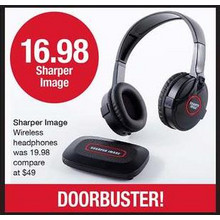 Sharper Image Wireless Headphones