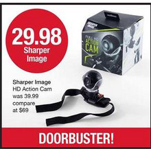 Sharper Image HD Action Cam