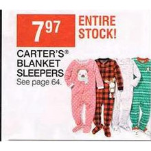 Carter's Kids Blanket Sleepers