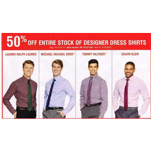Michael Kors Mens Dress Shirts 50% OFF