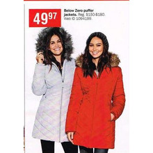 Below Zero Womens Puffer Jackets