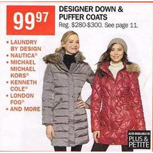 London Fog Plus Puffer Coats