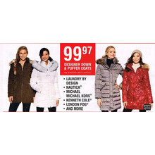 London Fog Women's Puffer Coats