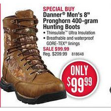 Danner 8-in. Pronghorn 400-gram Hunting Boots