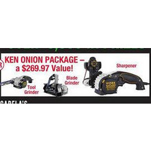 Chance to Win Ken Onion Package First 600 Customers