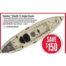Emotion Stealth 11 Angler Sand