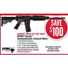 DPMS Oracle Semiautomatic Tactical Rifles