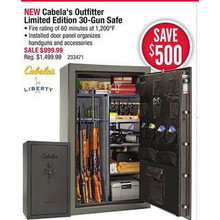 Cabelas Outfitter Limited Edition 30-Gun Safe