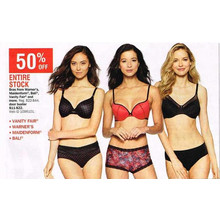 Vanity Fair Bras 50% Off