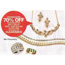 Clearance Fine Jewelry - 70% OFF