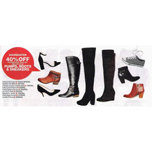 Select Women's Shoes & Boots - 40% OFF