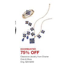 Clearance Jewelry from Charter Club & More - 75% OFF